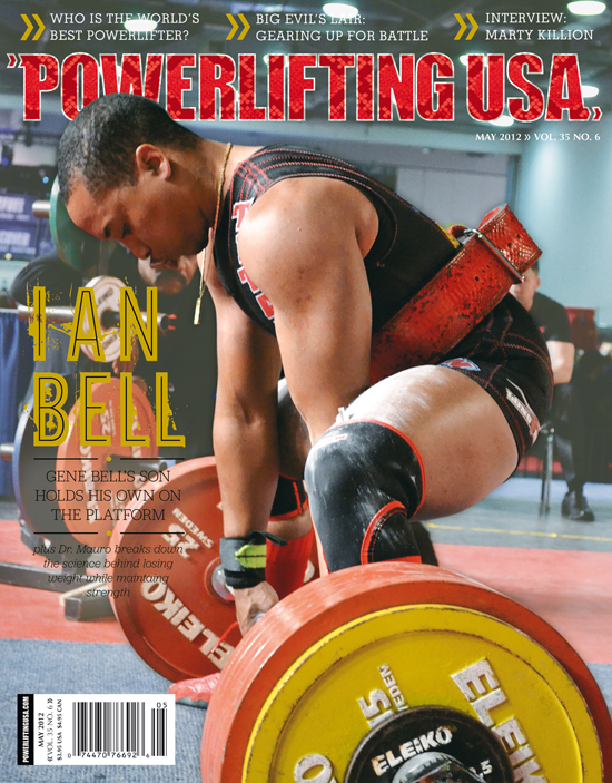 May 2012 Powerlifting USA Issue